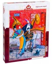 Пъзел Art Puzzle от 1000 части - Душата на музиката, Марек Брзозовски -1