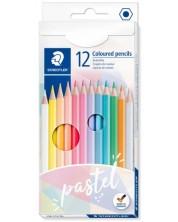 Цветни моливи Staedtler Pastel - 12 цвята -1