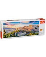 Панорамен пъзел Trefl от 500 части - Акропола, Атина
