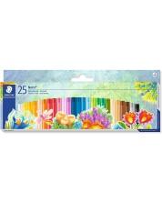 Маслени пастели Staedtler Noris Club 241 - 25 цвята -1