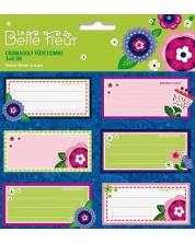 Ученически етикети Ars Una La Belle Fleur - 18 броя -1