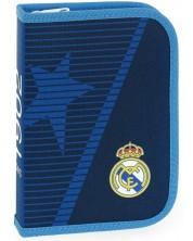 Ученически несесер Ars Una Real Madrid - Син, с 2 крила -1