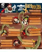 Ученически етикети Ars Una Jolly Roger - 18 броя -1