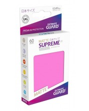 Ultimate Guard Supreme UX Sleeves Yu-Gi-Oh! Matte Pink (60) -1