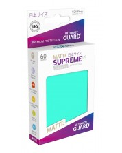 Ultimate Guard Supreme UX Sleeves Yu-Gi-Oh! Matte Turquoise (60) -1