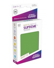 Ultimate Guard Supreme UX Sleeves Yu-Gi-Oh! Matte Green (60) -1