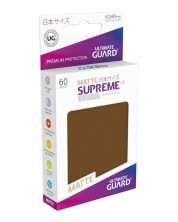 Ultimate Guard Supreme UX Sleeves Yu-Gi-Oh! Matte Brown (60) -1