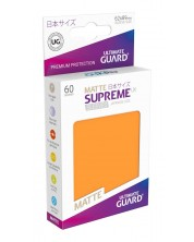 Ultimate Guard Supreme UX Sleeves Yu-Gi-Oh! Matte Orange (60) -1