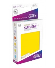 Ultimate Guard Supreme UX Sleeves Yu-Gi-Oh! Matte Yellow (60) -1