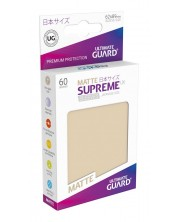 Ultimate Guard Supreme UX Sleeves Yu-Gi-Oh! Matte Sand (60) -1