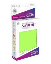 Ultimate Guard Supreme UX Sleeves Yu-Gi-Oh! Matte Light Green (60) -1