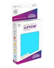 Ultimate Guard Supreme UX Sleeves Yu-Gi-Oh! Matte Light Blue (60) -1