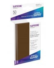 Протектори Ultimate Guard Supreme UX Sleeves - Standard Size - Кафяви (50 бр.) -1