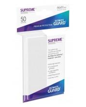 Протектори Ultimate Guard Supreme UX Sleeves - Standard Size - Бели (50 бр.) -1