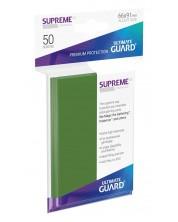 Протектори Ultimate Guard Supreme UX Sleeves - Standard Size - Зелени (50 бр.) -1