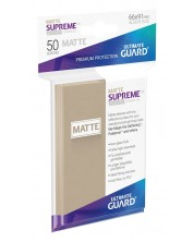 Протектори Ultimate Guard Supreme UX Sleeves Standard Size - Пясъчен мат (50 бр.)