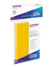 Протектори Ultimate Guard Supreme UX Sleeves - Standard Size - Жълти (50 бр.)