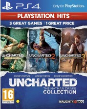 Uncharted: The Nathan Drake Collection - Пакет от 3 игри (PS4) -1