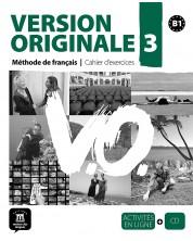Version Originale 3 Cahier dexercices + CD -1