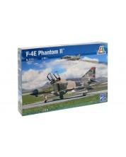 Военен сглобяем модел - Американски  двумоторен изтребител – прехващач Г-4Е Фантом II (F-4E PHANTOM II)