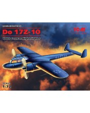 Военен сглобяем модел - Германски двумоторен бомбардировач До 17З-10 (Do 17Z-10), Втора световна война (Нова матрица 2016)