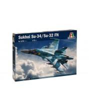 Военен сглобяем модел - Руски двуместен изтребител-бомбардировач Су-34 (Су-32) ФН (SUKHOI Su-34 (Su-32) FN)