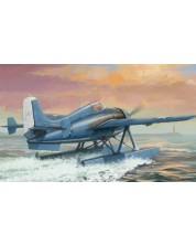 Военен сглобяем модел - Изтребител с водно базиране на САЩ Grumman F4F-3S Wildcatfish