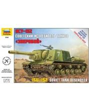 Военен сглобяем модел - Съветска самоходна гаубица Ису - 152  /ISU - 152/