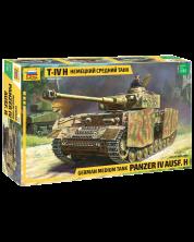 Военен сглобяем модел - Германски танк PANZER IV AUSF.H