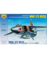 Военен сглобяем модел - Руски изтребител от трето поколение МИГ-23 МЛД (MIG-23 MLD)