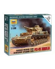 Военен сглобяем модел - Германски среден танк Pz IV Ausf.D