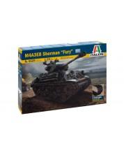 "Военен сглобяем модел - Американски основен танк Шърман М4А3Е8 ""Фюри"", два вида вериги (M4A3E8 SHERMAN ""FURY"")"