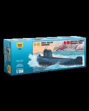 Военен сглобяем модел - Съветска ядрена подводница K-19 Клас