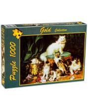 Пъзел Gold Puzzle от 1000 части - Време за игра