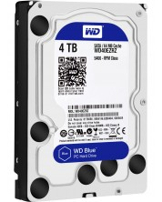 "Твърд диск Western Digital - Blue, 4TB, 5400rpm 3.5"" -1"