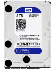"Твърд диск Western Digital - Blue, 3TB, 5400rpm, 3.5"" -1"