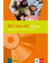 Wir Neu A2: digital DVD-ROM / Немски език - ниво A2: DVD носител