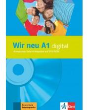 Wir Neu A1: digital DVD-ROM / Немски език - ниво A1: DVD носител