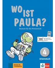 Wo ist Paula? 4 Arbeitsbuch mit CD-ROM (MP3- Audios) A1.2