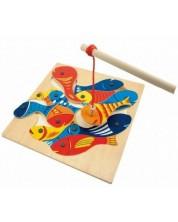Дървена игра Woody – Магнитен риболов -1