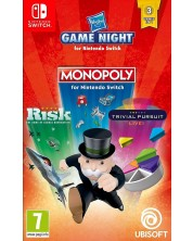 Compilation Hasbro Monopoly & Risk & Trivial Pursuit (Nintendo Switch) -1