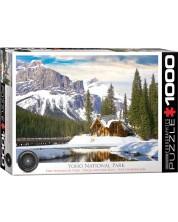 Пъзел Eurographics от 1000 части - Национален парк Йохо, Канада -1
