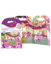 Активна игра със стикери Revontuli Toys Oy - Моето малко пони, Партито на Пинки Пай