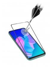 Стъклен Протектор Celluarline за Huawei P40 Lite, Черно