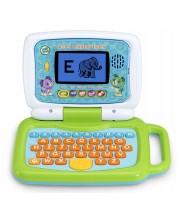 Образователна играчка Vtech - Лаптоп 2 в 1, зелен