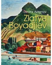 Zlatyu Boyadjiev (албум-монография на френски език) - твърди корици -1