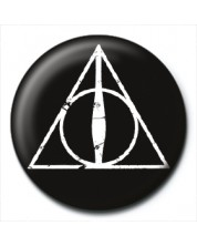 Значка Pyramid -  Harry Potter (Deathly Hallows Logo)