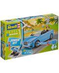 Сглобяем модел на състезателен автомобил Revell - Roadster  (00801) - 4t