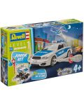 Сглобяем модел на полицейски автомобил Revell (00802) - 4t