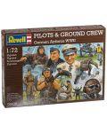 Фигури Revell - Pilots & ground crew Germain Airforce WWII (02400) - 1t